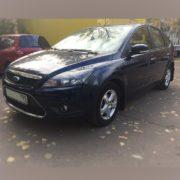 Форд Фокус 2011 хэтчбек синий. ДП-АВТО.ру