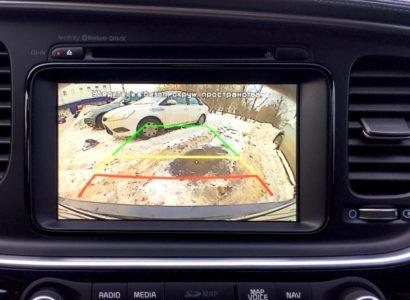 Киа оптима 2015 салон мультимедиа камера заднего вида. ДП-АВТО.ру