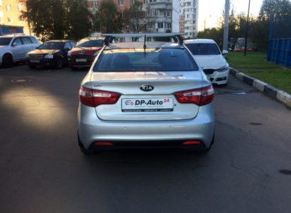 КИА РИО 2015 серебристая. ДП-АВТО.РУ