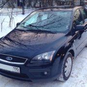 Форд Фокус 2007 темно-синий. ДП-АВТО.ру