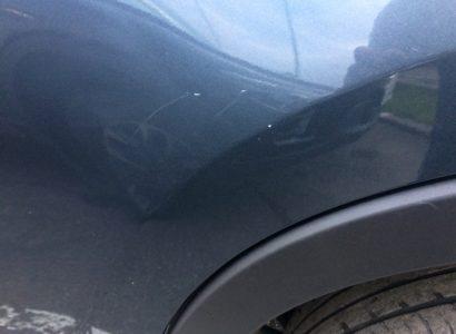 Мазда CX-5 2012 серо-синяя царапина ЛКП. ДП-АВТО.РУ