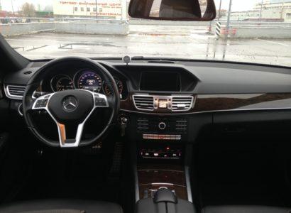 Мерседес Е 2015 руль