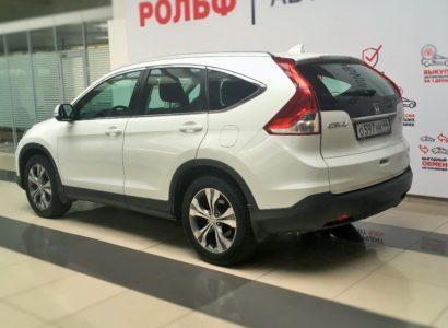 Honda CR-V 2014 белая