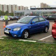 RIO синяя седан 2011