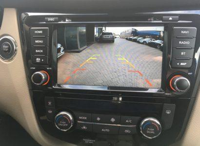 Nissan x-trail 2015 камера заднего вида