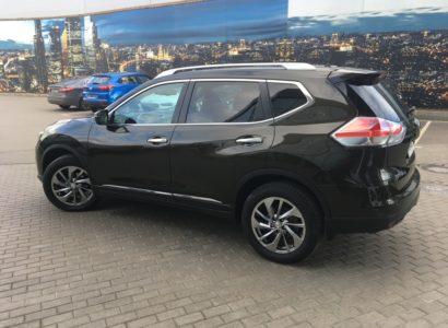 Nissan x-trail 2015 оливковый. Подбор авто Москва